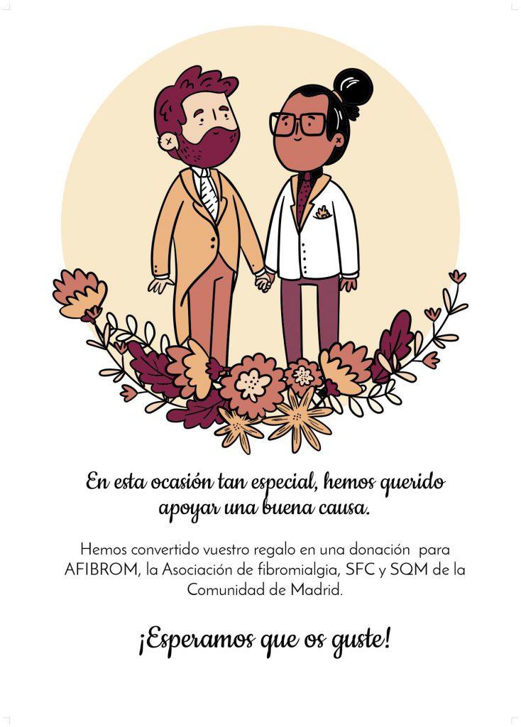 Tarjeta solidaria de Afibrom 02