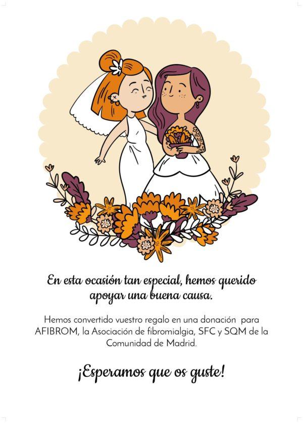 Tarjeta solidaria de Afibrom 03
